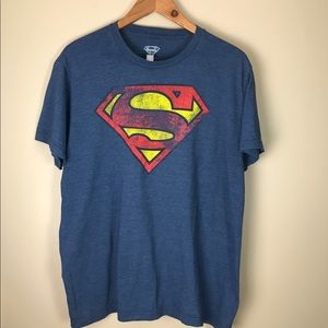 Faded Superman Tee